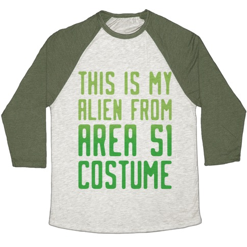 This Is My Alien From Area 51 Costume Parody