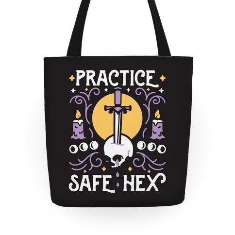 Practice Safe Hex Tote