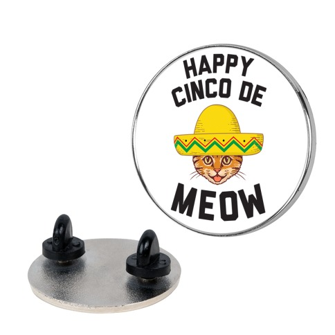 Cinco De Meow Pin
