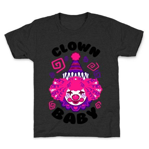 Clown Baby Kids T-Shirt