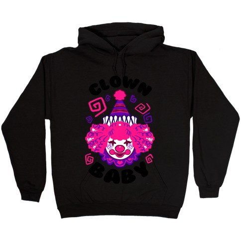 Clown Baby Hooded Sweatshirt