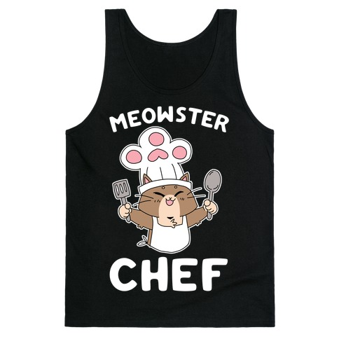 Meowster Chef Tank Top