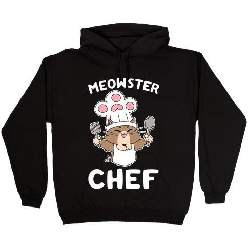 Meowster Chef Hooded Sweatshirt