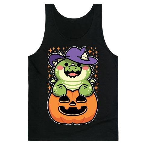 Cute Halloween Dragon Tank Top