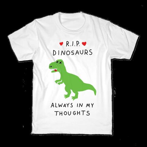 RIP Dinosaurs Kids T-Shirt