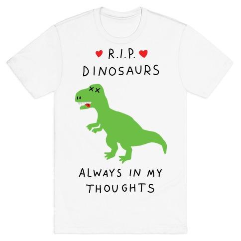 RIP Dinosaurs T-Shirt