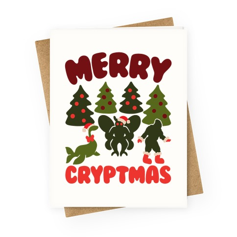 Merry Cryptmas Greeting Card
