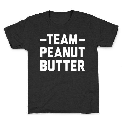 Team Peanut Butter Kids T-Shirt
