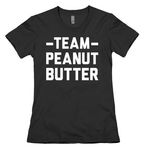 Team Peanut Butter Womens T-Shirt