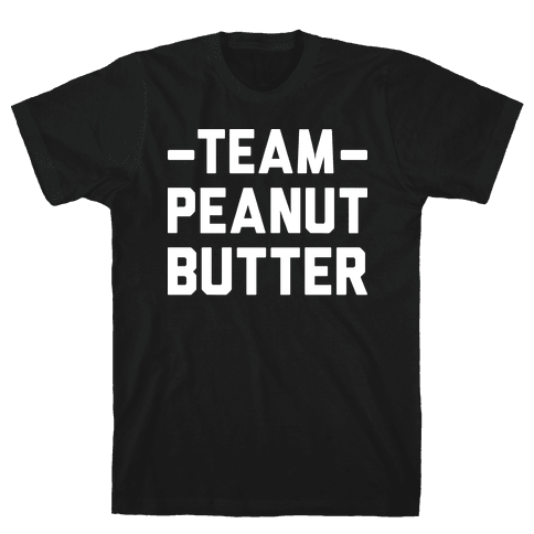 Team Peanut Butter Mens T-Shirt