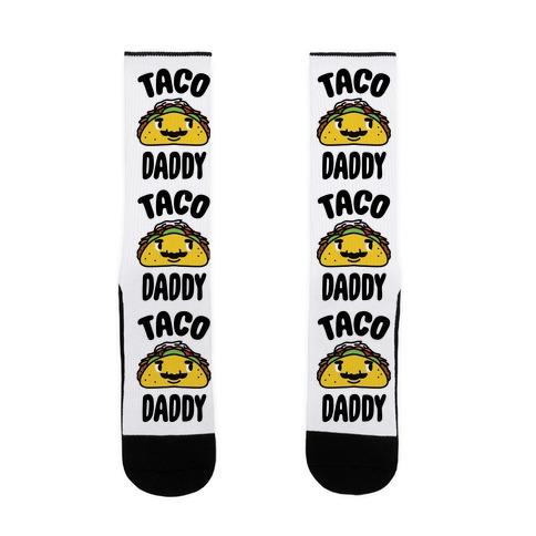 Taco Daddy Sock