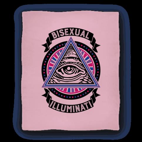 Bisexual Illuminati Blanket
