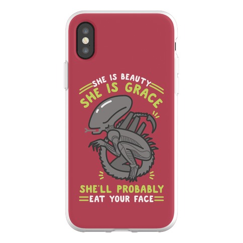 She'll Probably Eat Your Face Phone Flexi-Case
