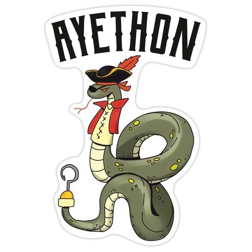 Ayethon Die Cut Sticker