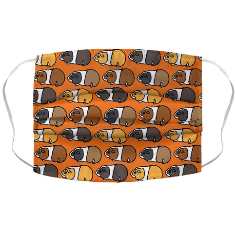 Guinea Pig Pattern Face Mask Cover
