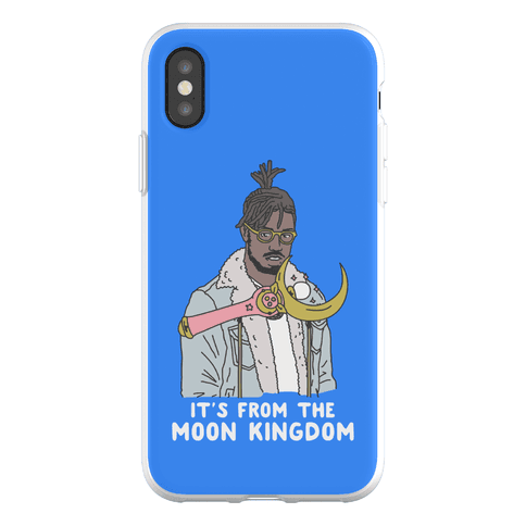It's From The Moon Kingdom Phone Flexi-Case