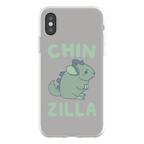 Chin-Zilla Phone Flexi-Case