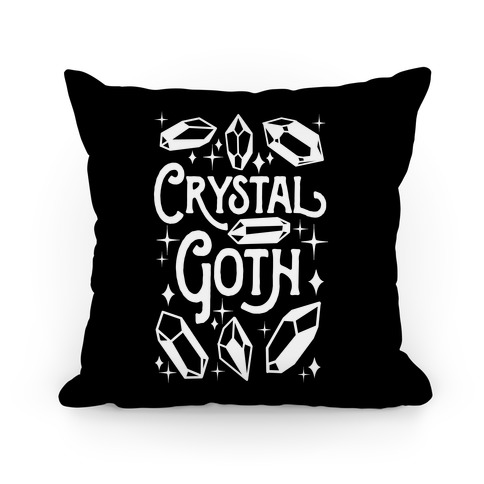 Crystal Goth Pillow