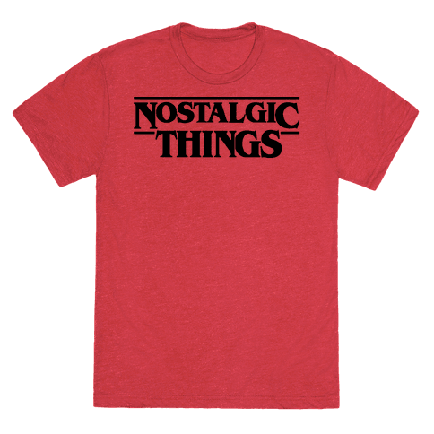 Nostalgic Things Parody