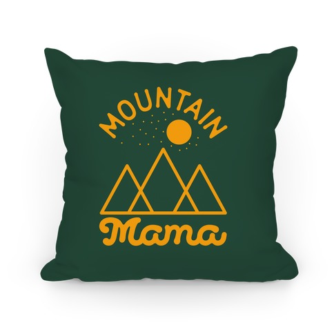 Mountain Mama Pillow