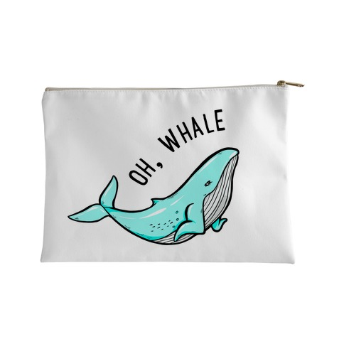 Oh Whale Accessory Bag