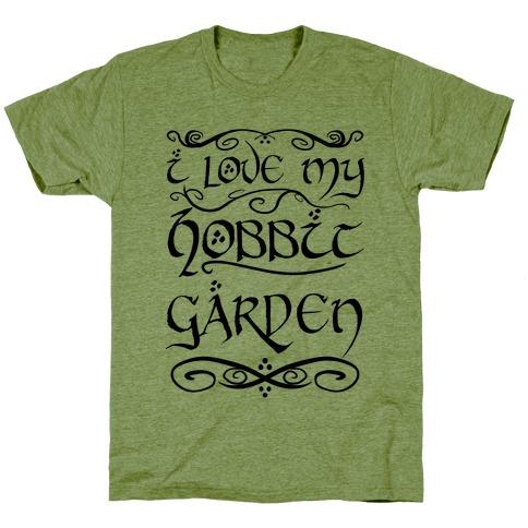 I Love My Hobbit Garden T-Shirt
