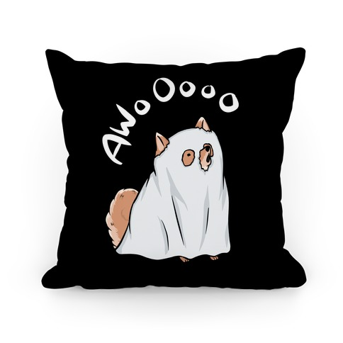 Ghost Dog Pillow