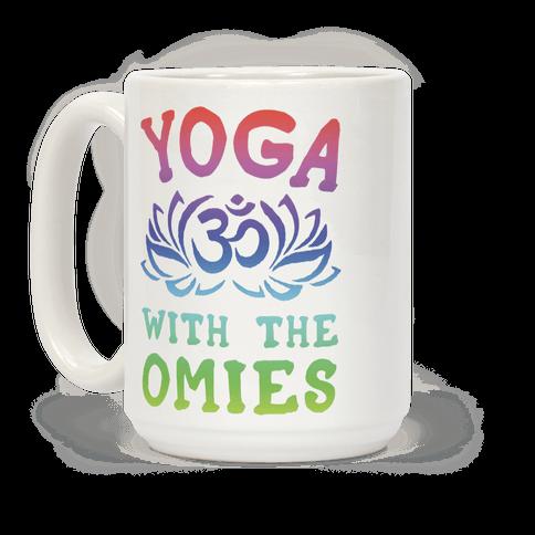 Yoga With The Omies Coffee Mug