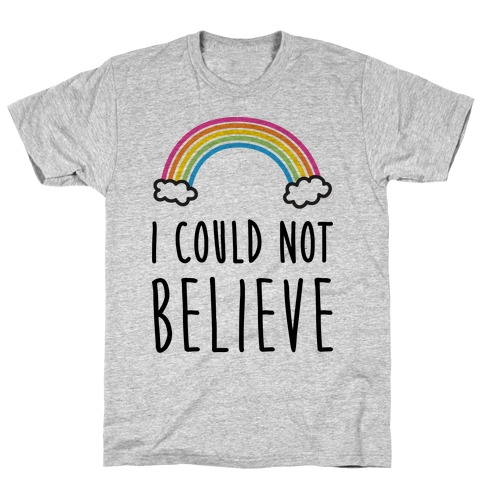 I Could Not Believe Queer Eye Rainbow (Pair 2/2) Mens T-Shirt