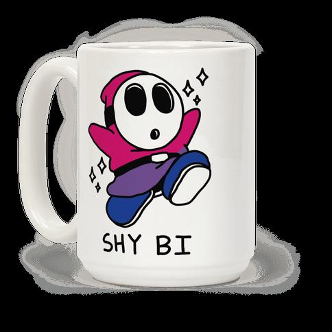 Shy Bi Coffee Mug