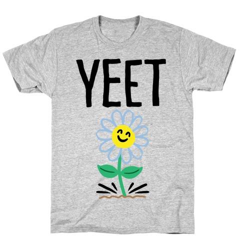 Yeet Flower Parody T-Shirt
