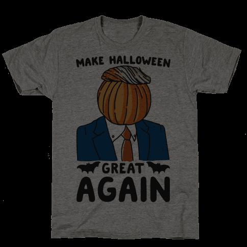 Make Halloween Great Again Parody Mens T-Shirt