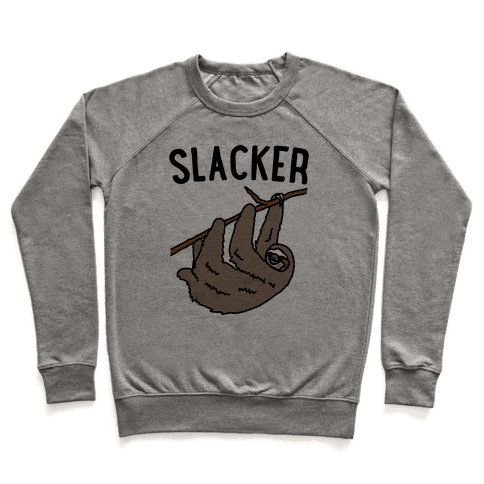 Slacker Sloth  Pullover