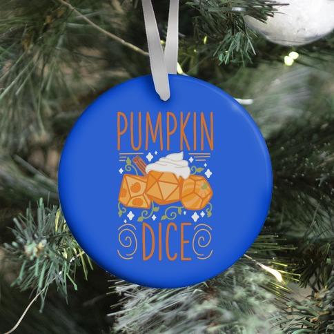 Pumpkin Dice Ornament