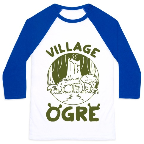 Village Ogre Baseball Tee