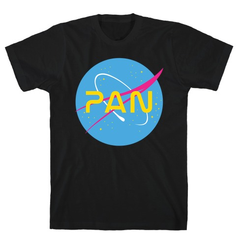 Pan Nasa Mens T-Shirt