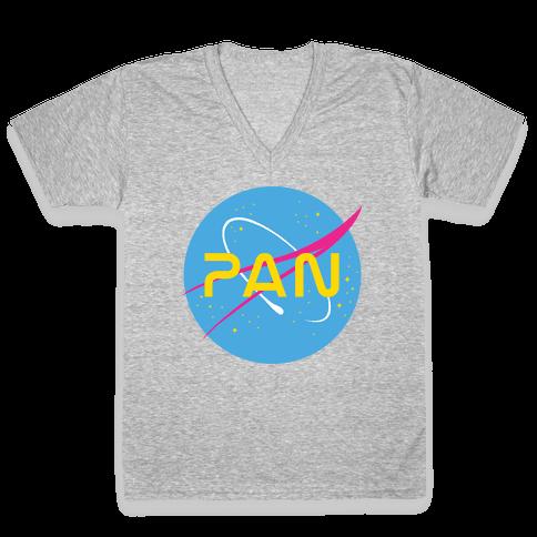 Pan Nasa V-Neck Tee Shirt