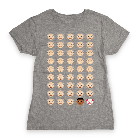 American Presidents Explained by Emojis Womens T-Shirt