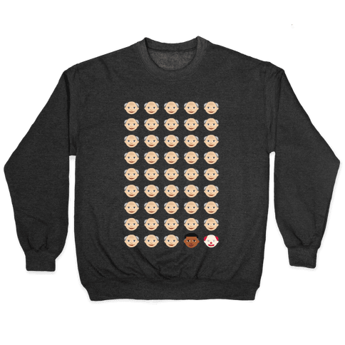 American Presidents Explained by Emojis Pullover