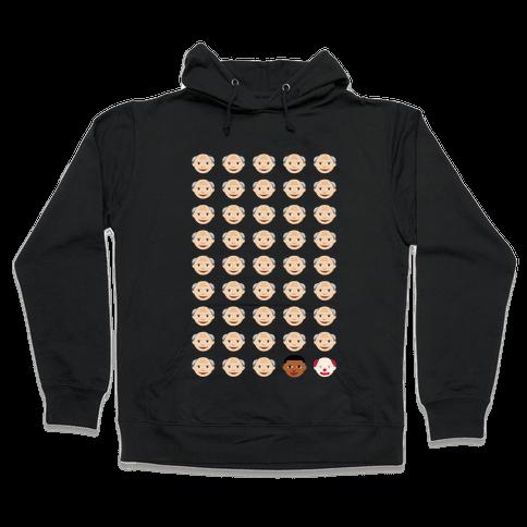 American Presidents Explained by Emojis Hooded Sweatshirt