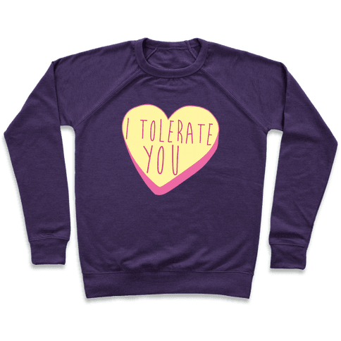 I Tolerate You Pullover