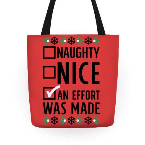 An Attempt was Made Tote