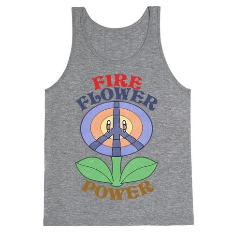 Fire Flower Power Tank Top