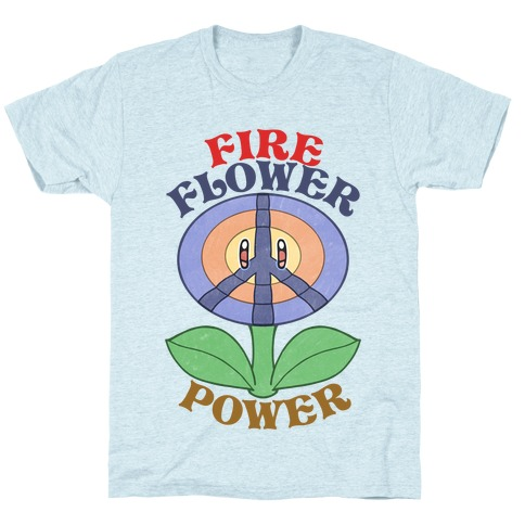 Fire Flower Power T-Shirt