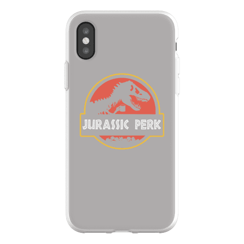 Jurassic Perk Phone Flexi-Case