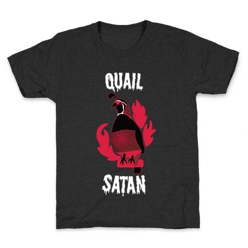 Quail Satan Kids T-Shirt