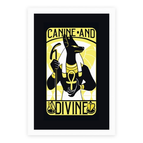 Canine and Divine - Anubis Poster