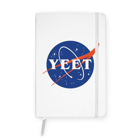 Yeet Nasa Logo Parody Notebook