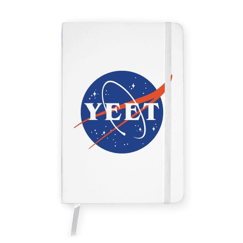 Yeet Nasa Logo Parody Notebook
