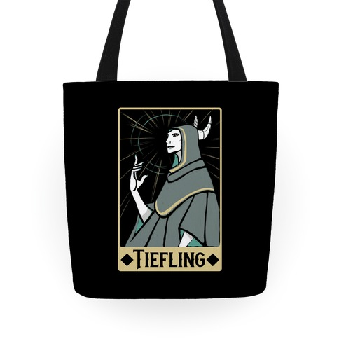 Tiefling - Dungeons and Dragons Tote